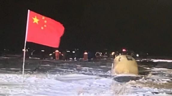"""""""嫦娥五号""""成功返回地球!宜品乳业与航天同行,彰显中国力量"""